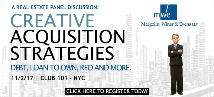 creative real estate acquisition strategies margolin winer evens llp