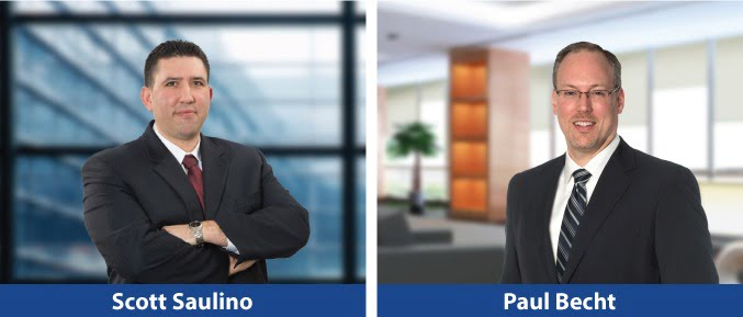 MWE names Scott Saulino and Paul Becht as new partners.
